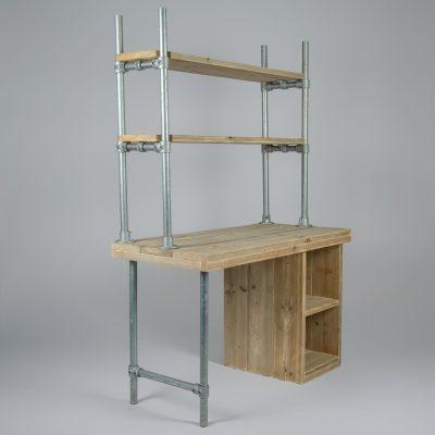 Bureau boekenplank