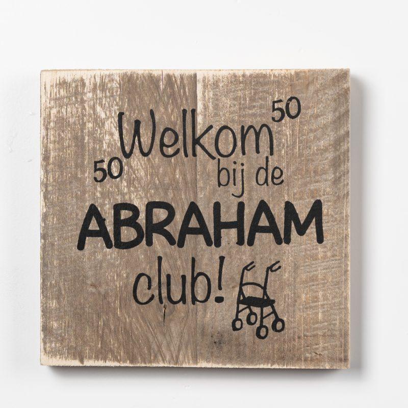 Tekstbord - Abraham