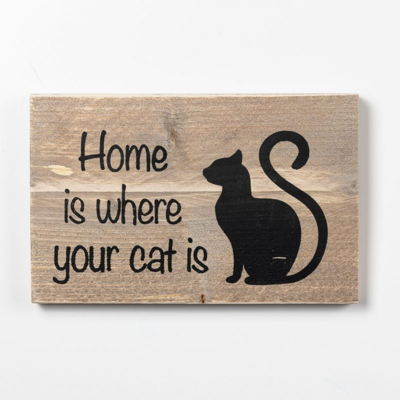 Tekstbord - Cat