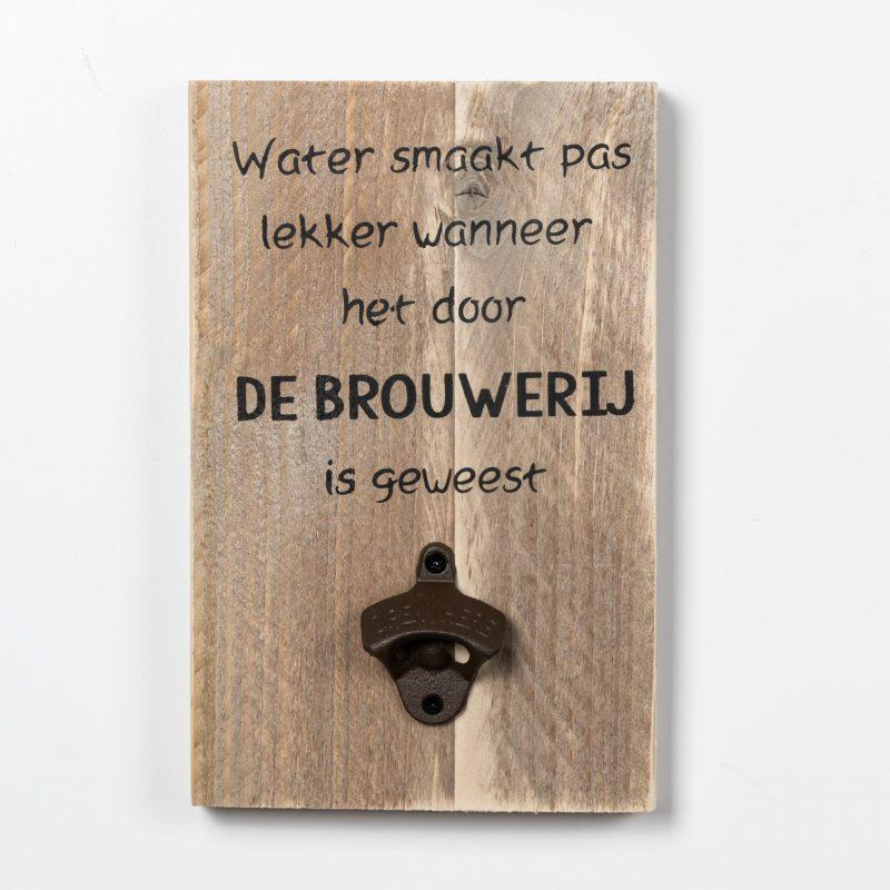 Tekstbord - Brouwerij
