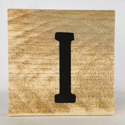 Houten letters I